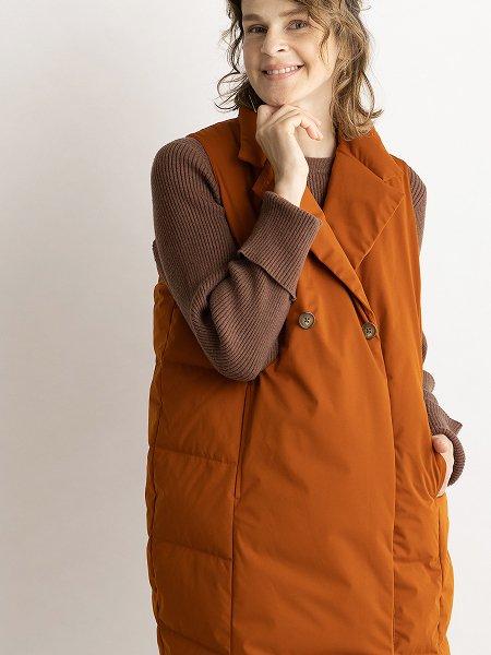 Tailored Long Vest 【WEB限定】/テーラーロングベスト