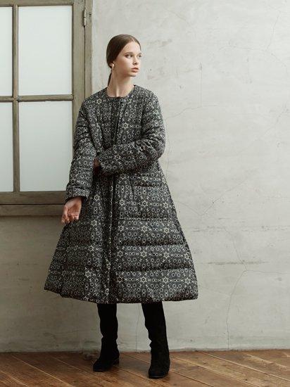 No Collar Arrange Long Coat/ノーカラーアレンジロングコート