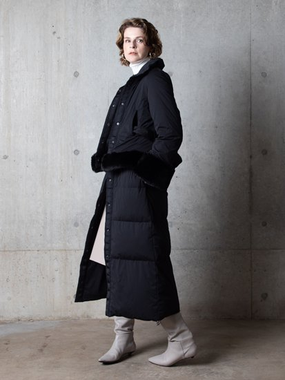 Design Fur Long Coat/デザインファーロングコート