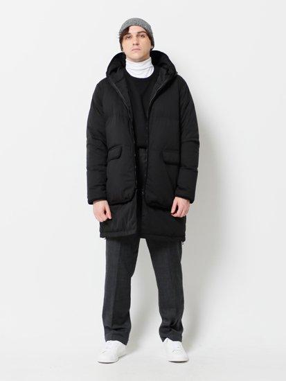 Removable Hem Hood Coat/リムーバブルヘムフードコート