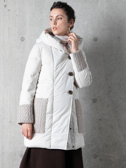 Knit Pocket Coat/ニットポケットコート