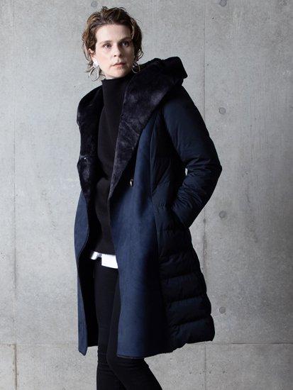 Fake Mooton Long Coat/フェイクムートンロングコート