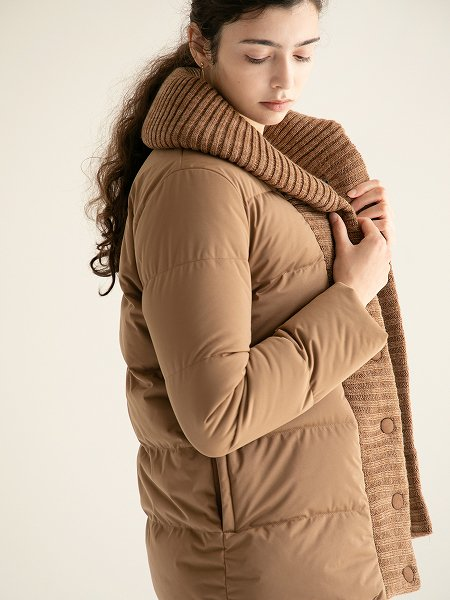 Knit Shawl Collar Coat/ニットショールカラーコート