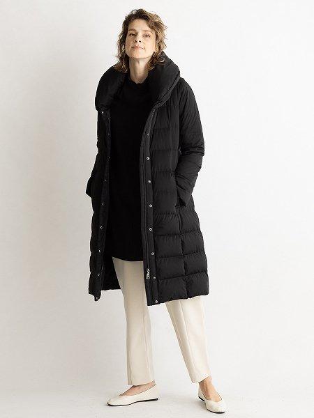 Two Piece Collar Long Coat/ツーピースカラーロングコート