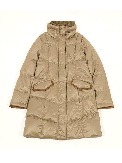 Long Stand Collar Coat/ロングスタンドカラーコート