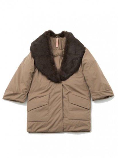 Fur Lapel Coat/ファーラペルコート