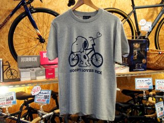 430 SNOOPY LOVES BMX S/S PRINT TEE