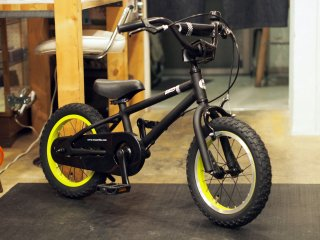 Wynn 14inch Kids Bike BLACK