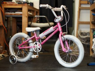 HARO 2020 SHREDDER16 PINK