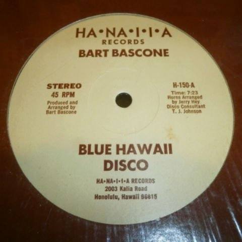 BART BASCONE / BLUE HAWAII DISCO