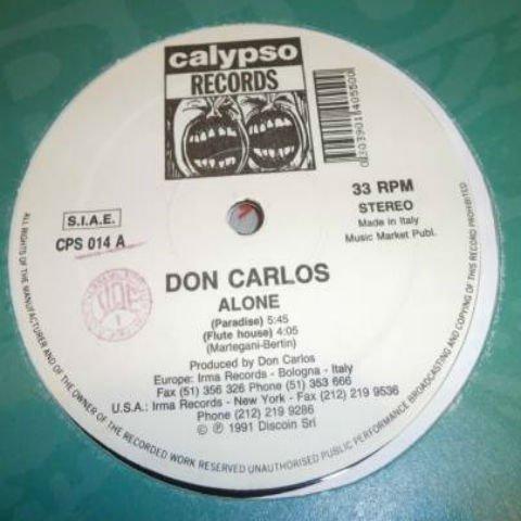 DON CARLOS / ALONE