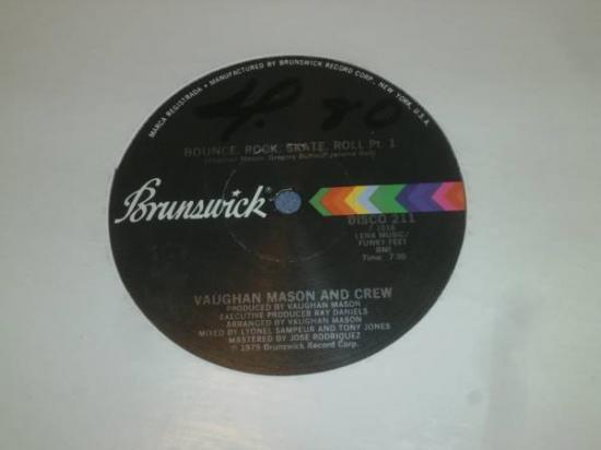 Vaughan Mason & Crew* La Pandilla De Vaughan Mason - Patinando Y Bailando (Bounce, Rock, Skate, Roll)
