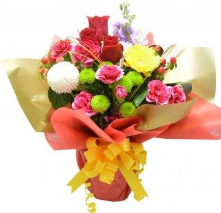 生花 和風 スタンディングブーケ 花 ギフト 贈り物 花束 誕生日