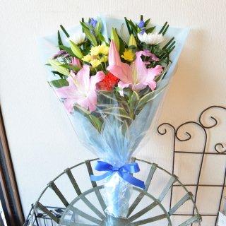 お花おまかせお供え用花束 一対