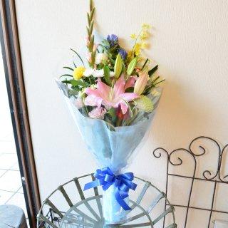 お花おまかせ お供え用ボリューム花束