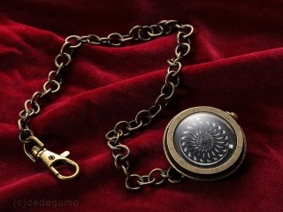 キネティックアートウォッチNo.1 【懐中時計】手作り腕時計/手巻き&自動機械式時計