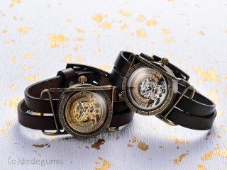歯車機構(シルバー) 手作り腕時計/手巻き&自動機械式時計