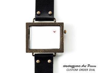 カスタムオーダー横 dedegumoアートピースウォッチ 手作り腕時計/クオーツ時計