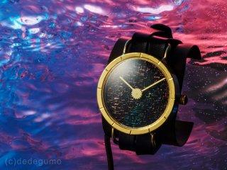 Circuit of time C05  金彩上田×デデグモウォッチシリーズ 手作り腕時計/クオーツ時計