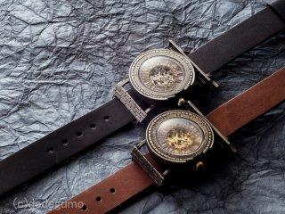 機械塔【きかいとう】(シルバー) 手作り腕時計/手巻き&自動機械式時計