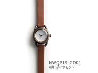 【4月ダイヤモンド】イントロNWQP19-GD01 クオーツ時計