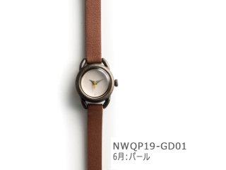 【6月パール】イントロNWQP19-GD01 クオーツ時計