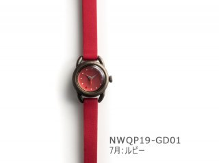 【7月ルビー】イントロNWQP19-GD01 クオーツ時計