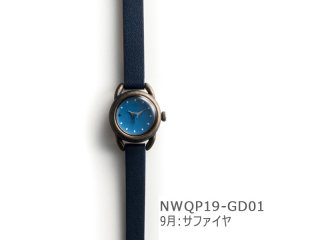 【9月サファイヤ】イントロNWQP19-GD01 クオーツ時計