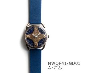 【Aこん】イントロNWQP41-GD01 クオーツ時計