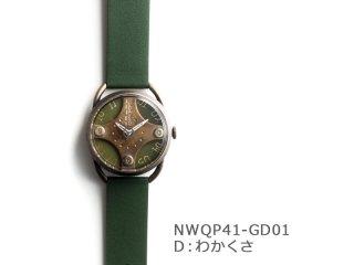 【Dわかくさ】イントロNWQP41-GD01 クオーツ時計