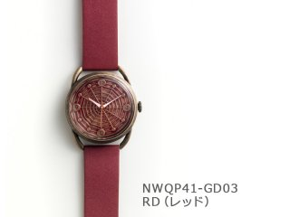 【RD(レッド)】スパイダーウェブ(イントロNWQP41-GD03) クオーツ時計