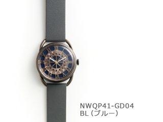 【BL(ブルー)】レトロギア(イントロNWQP41-GD04) クオーツ時計