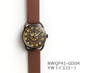 【YW(イエロー)】レトロギア(イントロNWQP41-GD04) クオーツ時計