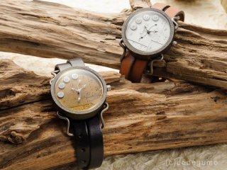 DIRECTION(シルバー) 手作り腕時計/クオーツ時計