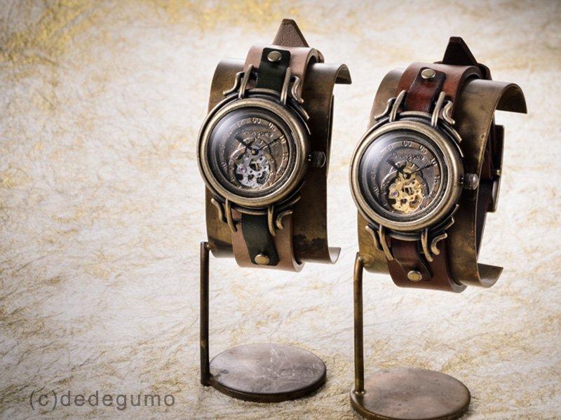 宇宙羅針盤(ゴールド) 手作り腕時計/手巻き&自動機械式時計