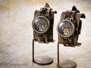 宇宙羅針盤(シルバー) 手作り腕時計/手巻き&自動機械式時計