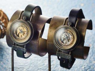 桜斗機械【さくらときかい】(ゴールド) 手作り腕時計/手巻き機械式時計