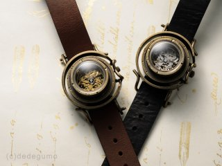機界旅行-1(シルバー) 手作り腕時計/手巻き&自動機械式時計
