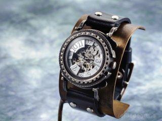 黄銅斗景3-2【おうどうとけい】 手作り腕時計/手巻き&自動機械式時計