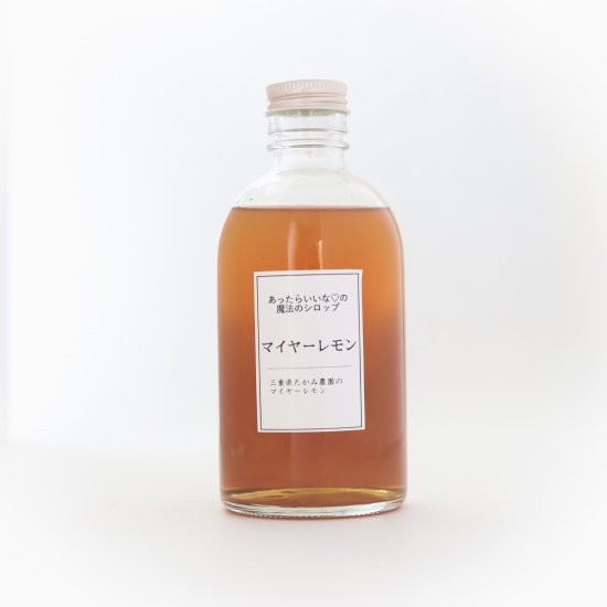 あったらいいな♡の魔法のシロップ<br>〜マイヤーレモンシロップ〜