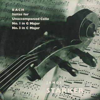 バッハ:無伴奏チェロ組曲1番BWV.1007,3番BWV.1009