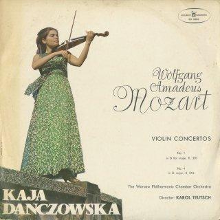 モーツァルト:ヴァイオリン協奏曲1番K.207,4番K.218