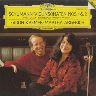 シューマン:ヴァイオリン・ソナタ1番Op.105,2番Op.121