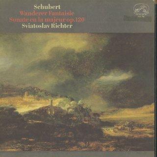 シューベルト:さすらい人幻想曲,ピアノ・ソナタ13番Op.120