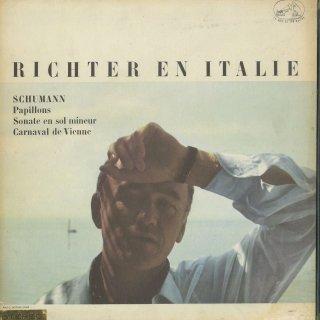 「RICHTER IN ITALY」シューマン:ピアノ・ソナタ2番Op.22,蝶々Op.2,ウィーンの謝肉祭Op.26