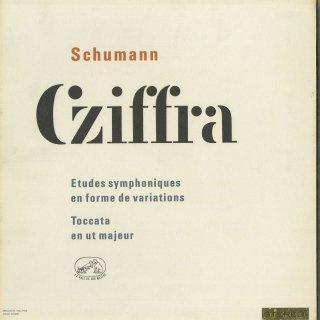 シューマン:交響的練習曲Op.13,トッカータOp.7