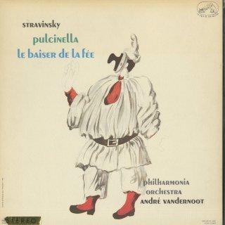 ストラヴィンスキー:プルチネッラ,妖精の口づけ