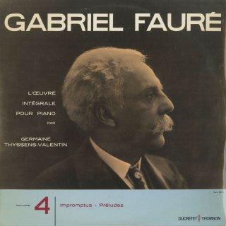 フォーレ:ピアノ曲全集Vol.4/6つの即興曲,9つの前奏曲Op.103