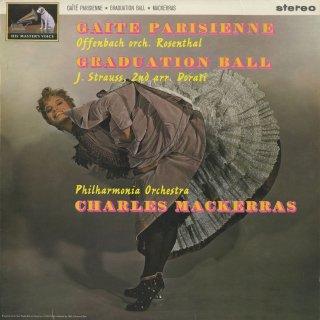 オッフェンバック:パリの喜び(ロザンタール編),シュトラウス2世(ドラティ編):卒業記念舞踏会