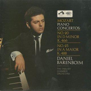 モーツァルト:ピアノ協奏曲20番K.466,23番K.488